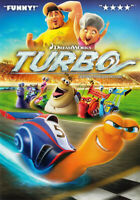 Turbo (Bilingual) New DVD