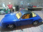1.18 Porsche 911 Targa in blue removable roof by Anson vgc