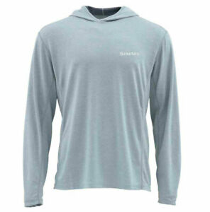 Simms BugStopper Hoody - Grey Blue- M - Close Out Sale & Free US Shipping