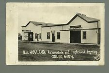 Oklee MINNESOTA RP 1917 CAR DEALERSHIP Hovland Automobiles nr Erskine Brooks
