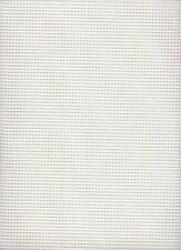 7 count  Zweigart Stramin Canvas White  - fat quarter 50x59cms