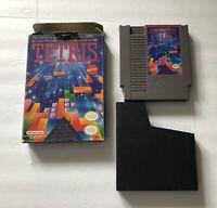 Tetris Nintendo Entertainment System NES Cart & Box NO MANUAL 1987