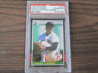 1985 Donruss # 273 Roger Clemens Autograph / Signed Card PSA DNA Boston Red Sox