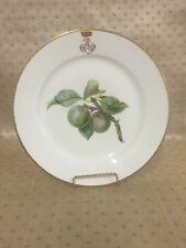 19th Century French Sevres Porcelain Hand Painted Cabinet Plate