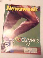 Newsweek Magazine Olympics September 11, 1972 102016RH