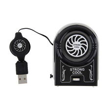 Mini Vacuum USB Cooler Air Extracting Cooling Fan Pad for Notebook Laptop H