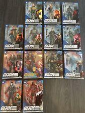 G.I. Joe Classified Lot! 13 figures! Snake Eyes, Zartan, Cobra Infantry, Flint!