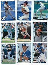 1995 SP SILVER Baseball 56 Card Lot  Ripken Nolan Ryan Hideo Nomo RC Ozzie Smith