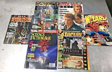Sci-Fi Magazines Lot of 6 Science Fiction Age Star Wars Spiderman