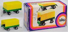 Siku Super 1325 Anhänger mit Plane, gelbgrün, Plane zinkgelb, B2, P14h