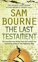 UsedVeryGood, The Last Testament, Bourne, Sam, Paperback