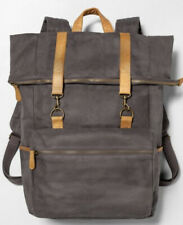 Hearth & Hand™ Magnolia Gray Backpack Laptop Bag Canvas $44.99 retail at Target!