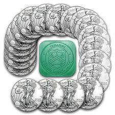2016 1 oz Silver American Eagle Coins BU (Lot, Roll, Tube of 20) - SKU #95425