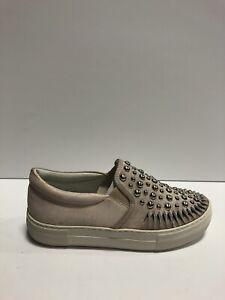 J Slides, Azt Womens Sneaker Pink Suede 6.5 M