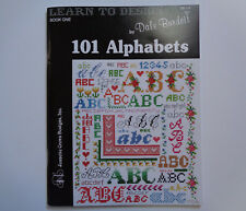 Learn To Design Bk One by Dale Burdett- 101 Alphabets, Cross Stitch