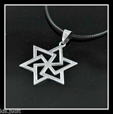 Amuleto Talismano  - Stella di Davide in acciaio