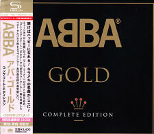 ABBA Gold 2008 Japan SHM 2 CD Complete Box Ver L/E With Obi UICY-91318/9 OOP