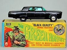 Rare GREEN HORNET BLACK BEAUTY 1:43 Launching 1966-67 CORGI 268 Diecast A/O MIB