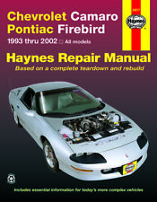 1993-2002 Camaro Firebird Trans-Am Haynes Repair Service Workshop Manual 5567
