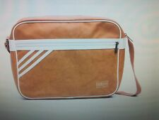 Adidas Cross Body Bag Camel and white 42 x 30 x 12 cm