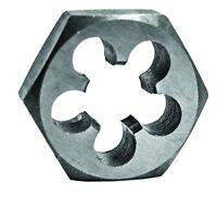 Century Drill 98214 High Carbon Steel Fractional Hexagon Die, 5/8-18 NF