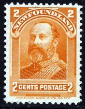 NEWFOUNDLAND CANADA 1897 to 1918 2 Cents Orange SG 86 MINT