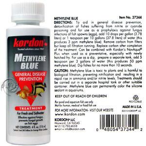 Kordon/ AAP Methylene Blue General Aquarium Disease Prevention, Fish Bath