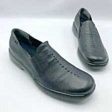 36b4ccebc86 Naturalizer Music 820N75 Women Black Leather Slip On Loafer Shoe Size 10.5N