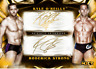 2020 UNDISPUTED GOLD DUAL SIGNATURE O'REILLY/STRONG Topps WWE Slam Digital