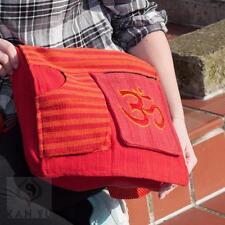 Unifarbene Damentaschen aus Baumwolle mit Deckelklappe