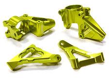 C25275GREEN Integy Billet Steering Knuckle Set for HPI Baja 5B2.0, 5T & 5SC