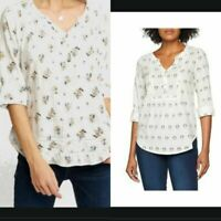 Ex FAT FACE  POPPY FLORAL POPOVER BLOUSE TOP NOW £14.99 + 3.99 Delivery!  (B139)