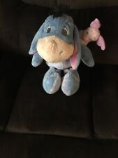 "16"" Disney Store Winnie the Pooh EEYORE Plush Stuffed Animal Toy"