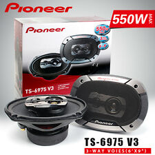 Pioneer TS-6975 V3 3 way 550 watts 6x9 Champion series car speaker