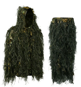 Hybrid 3D Leafy Ghillie suit, Jacket and pants