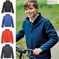 Regatta Kids Classmate Boys Girls Softshell Jacket Coat