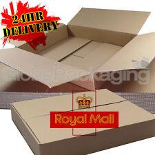 50 x MAXIMUM SIZE ROYAL MAIL SMALL PARCEL PACKET POSTAL BOX 449mm x 349mm x 79mm