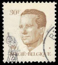 """BELGIUM 1097 (Mi2178) - King Baudouin """"Greenish Gum Printing"""" (pf10131)"""