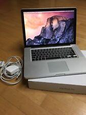 15 Inch Macbook Pro - 8GB Ram, 2011 Model, OSX Yosemite