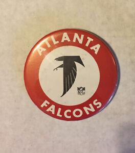 "Atlanta Falcons 3"" Retro NFL button"