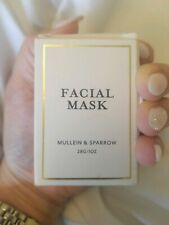 NEW MULLEIN & SPARROW Clay Facial Mask Detoxifying Indie Beauty 28g 1oz