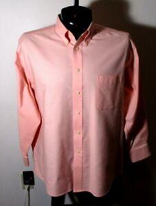 "Men's BARRINGTON Pink Long Sleeve ""Wrinkle Free"" Dress Shirt Size 17/32-33 NWOT"