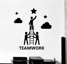 Vinyl Wall Decal Teamwork Office Decor Company Stickers Mural (ig4588)