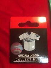 San Diego Padres Mlb Baseball Jersey Pin, Pin-Back - New Factory Packaged