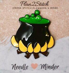 Boil & Bubble Zinc Alloy Needle Minder for Cross Stitch, Embroidery, Needlepoint
