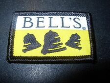 BELLS BREWING COMPANY oberon black note LOGO PATCH iron on craft beer brewery