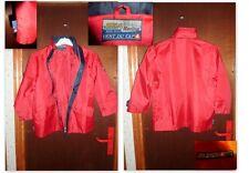VENT DU CAP 10 ans veste  parka trench haut blouson Imperméable   rouge