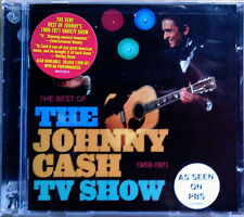 JOHNNY CASH - JOHNNY CASH TV SHOW & MURDER - (2) CDS - ONE LOT - STILL SEALED