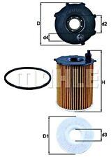 MAHLE Oil Filter For FORD PEUGEOT CITROEN VOLVO MAZDA FIAT MINI DS B-Max 1109S5