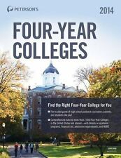 PETERSON'S FOUR-YEAR COLLEGES 2014 - PETERSON'S (COR) - NEW PAPERBACK BOOK